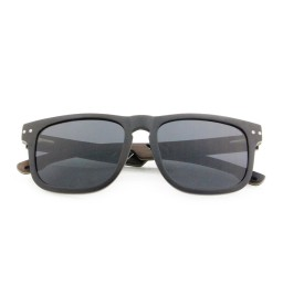 Ebony Laminated Wooden Sunglasses - Unisex