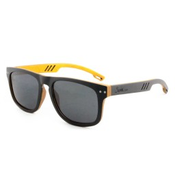Ebony/Orange Maple Wooden Sunglasses - Men