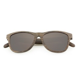 Light Theo Laminated Wooden Sunglasses - Unisex