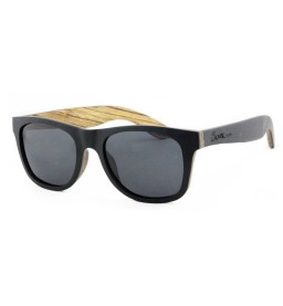 Black/Maple/Pear Wooden Sunglasses - Unisex