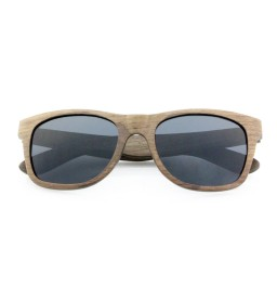 Walnut Laminated Wooden Sunglasses - Unisex