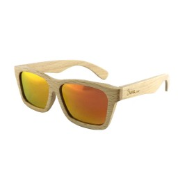 Orange Lens Beechwood Sunglasses - Men