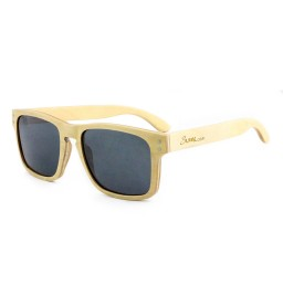 Square Bamboo Wooden Sunglasses - Unisex