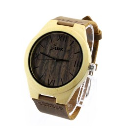 Natural Bamboo and Walnut - Unisex